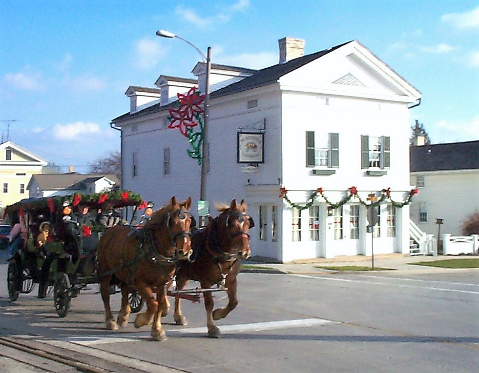 the rochester inn carriage ride option