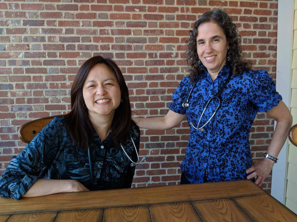 Dr. Julie Kardos and Dr. Naline Lai