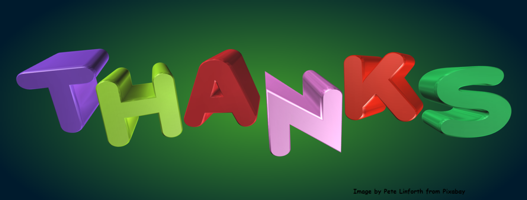 thank-you: teaching manners