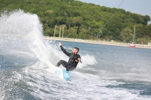 Wakeboarding in the Hamptons in Sag Harbor with Peconic Water Sports