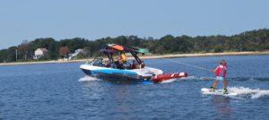 Wakeboarding in the Hamptons
