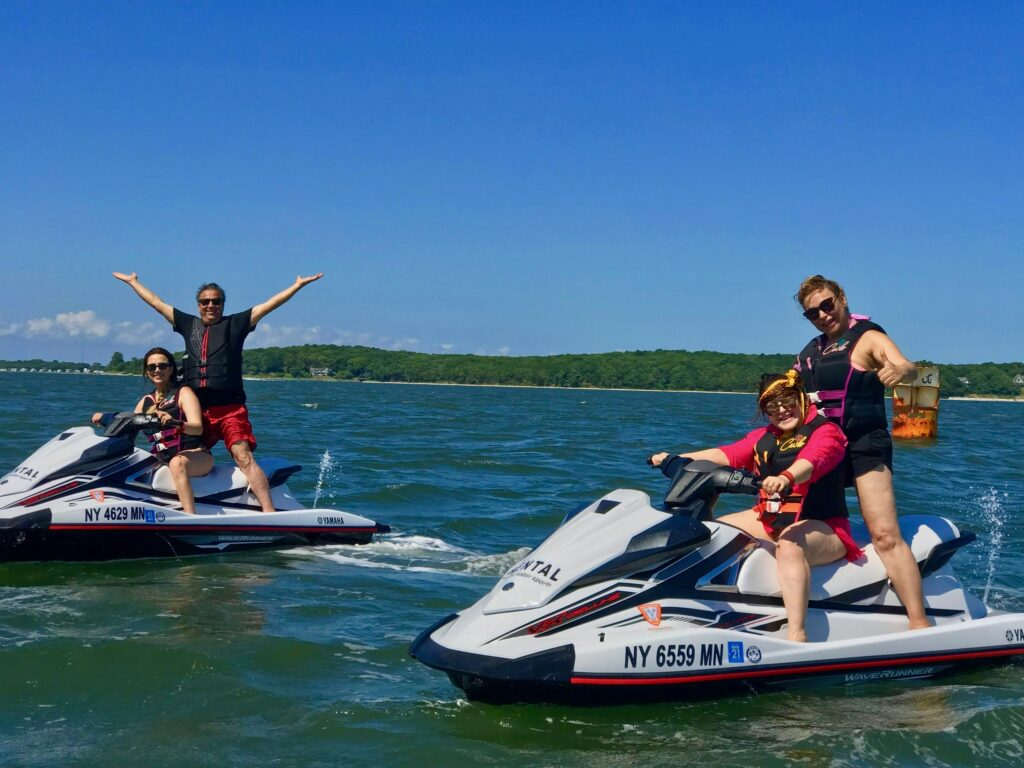 jet ski rentals on eastern Long Island with Peconic water sports in peconic bay
