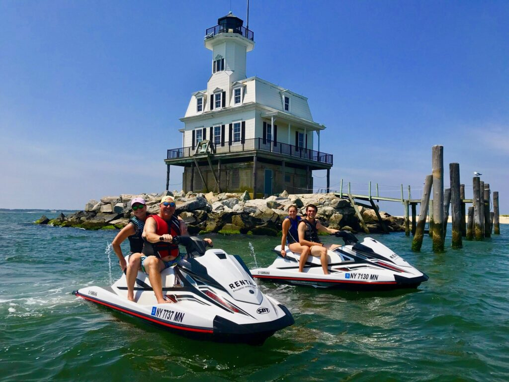 jet ski rentals on Long Island summer fun with peconic water sports Yamaha waverunners new
