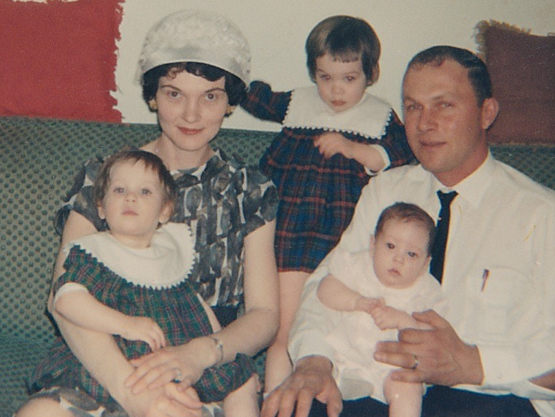 Shirley, Dean and 3 daughters