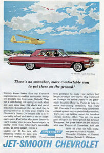Vintage 1963 Impala Advertisement