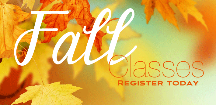 Fall/Winter Class Schedule Now Up