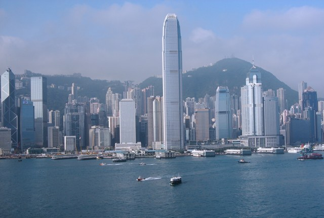 The Victoria Harbour of Hong Kong