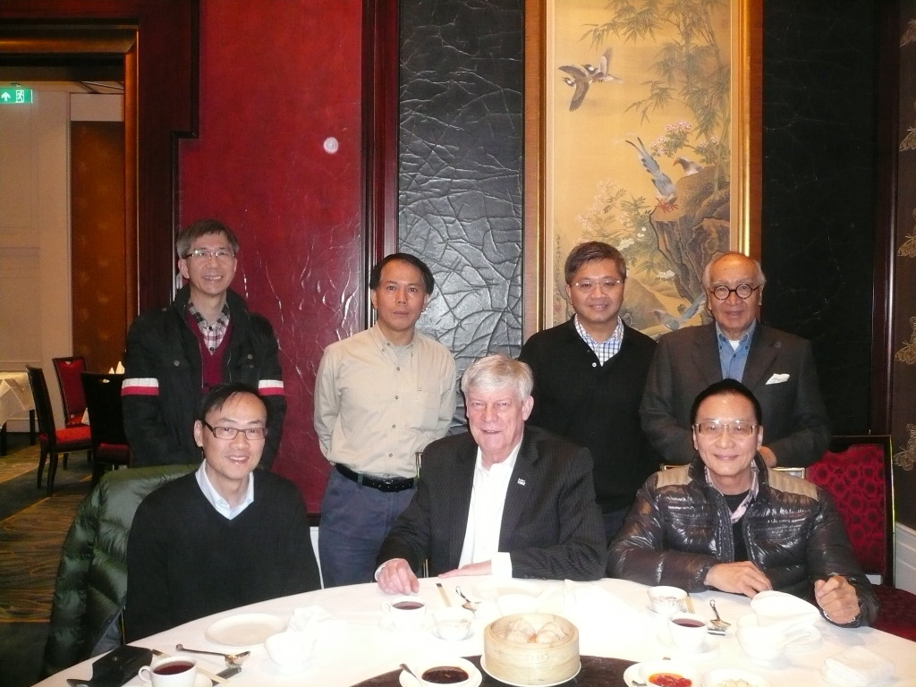 A luncheon gathering at Summer Palace