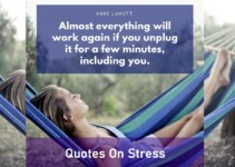 Quotes on Stress In Life