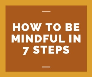 mindful in 7 steps