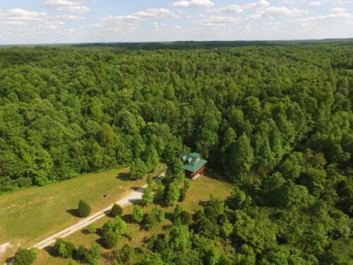 Hickory Haven Aerial View