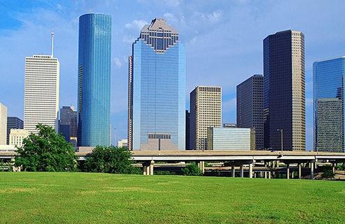 Houston, City Skyline