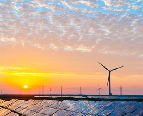 Wind and solar on the grid