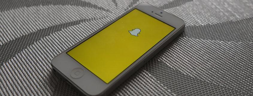 Snapchat App Screen by Adam Przezdziek