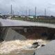 Houston Infrastructure Damage After HurricaneHarvey