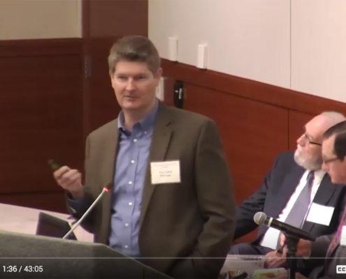 Tory Gattis speaks at HGAC Workshop