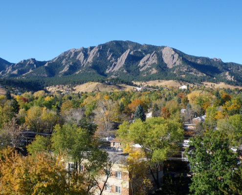 The Flatirons in Autumn