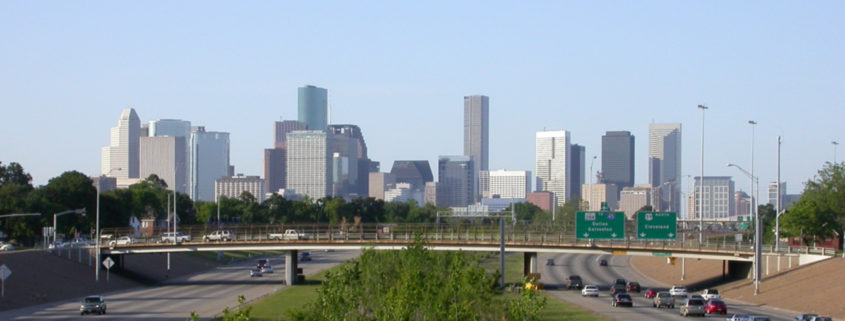View of Downtown Houston, Texas