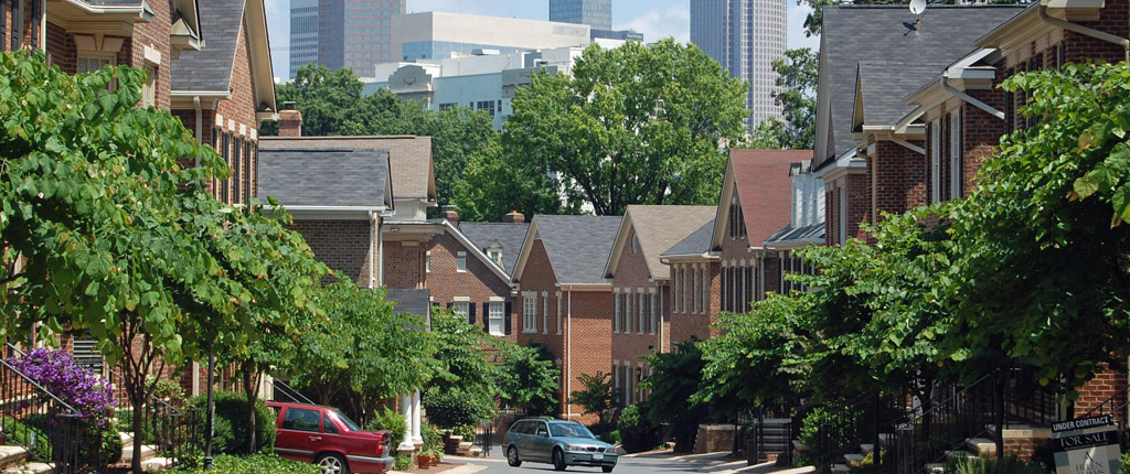 Dilworth, a suburb of Charlotte, NC