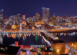 Photo credit: Dllu — Pittsburgh at night