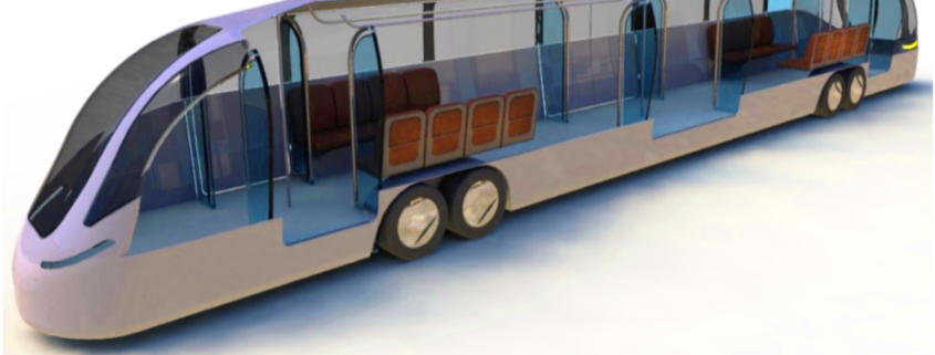 Proposed autonomous transit vehicle