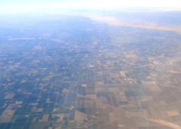 San Joaquin county aerial photo