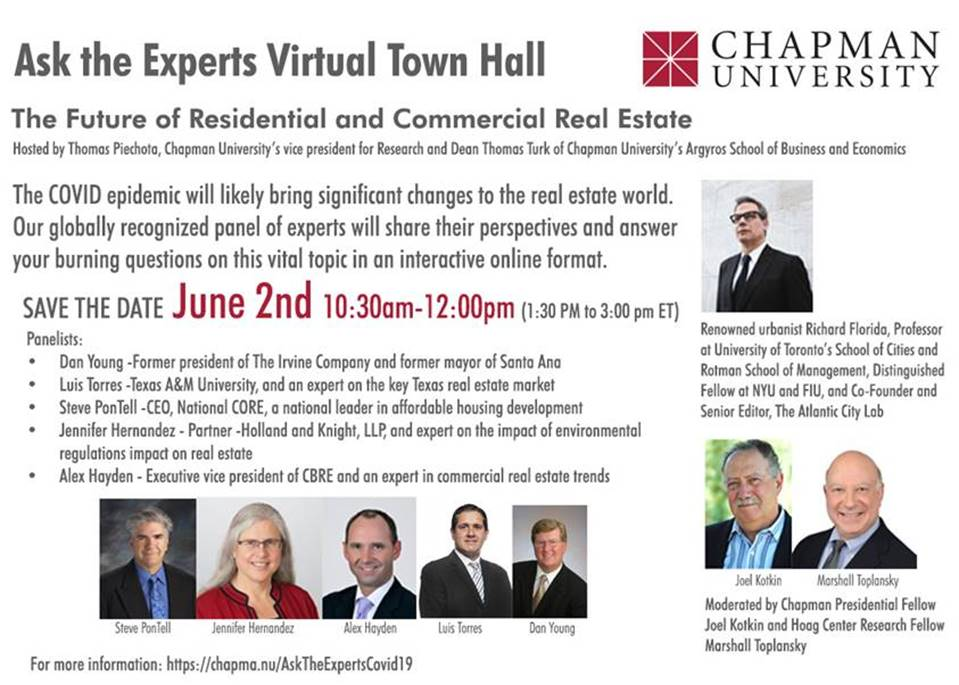 Future of Real Estate: Virtual Town Hall June 2