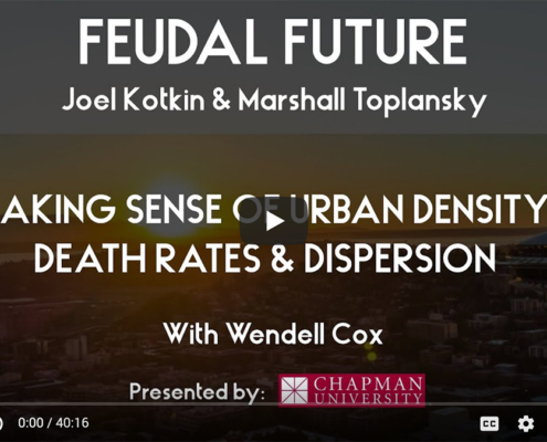 Making Sense of Urban Density, Death Rates & Dispersion