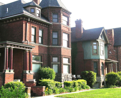 Historic District of Detroit