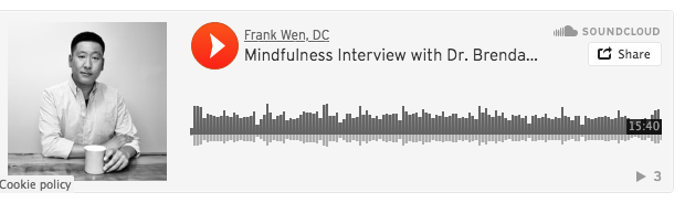 dr brenda butterfield discusses can mindfulness help me with pain on dr frank wen dc podcast