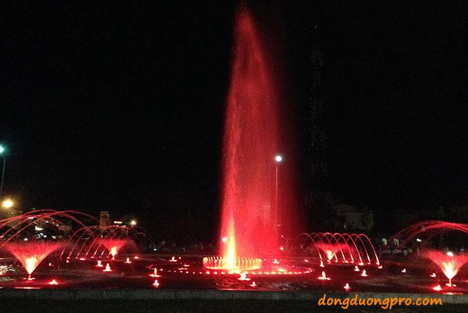 Đài phun nước nghệ thuật Hưng Yên