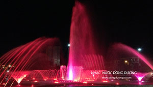 Đài phun nước Quảng trường Hưng Yên