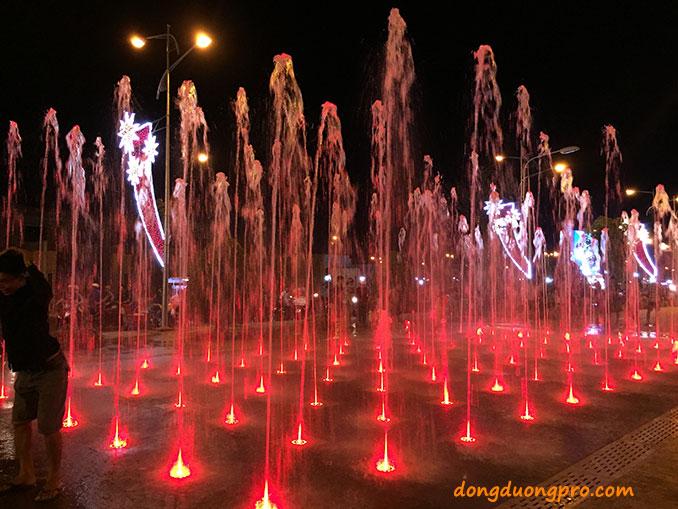 Sàn phun nước nghệ thuật Kiên Giang