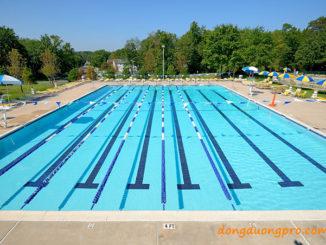 Bể bơi thi đấu ngoài trời