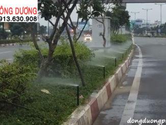 Dự án tưới cảnh quan - dải phân cách đường Phạm văn Đồng