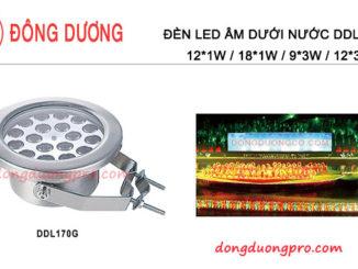 Đèn âm dưới nước IP68 chống thấm nước áp lực cao