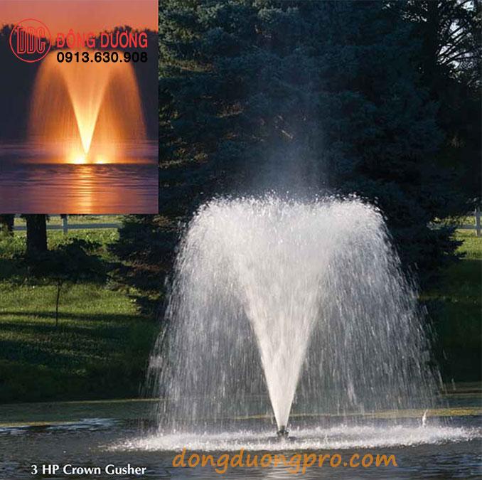 Vòi phun nước Crown Gusher
