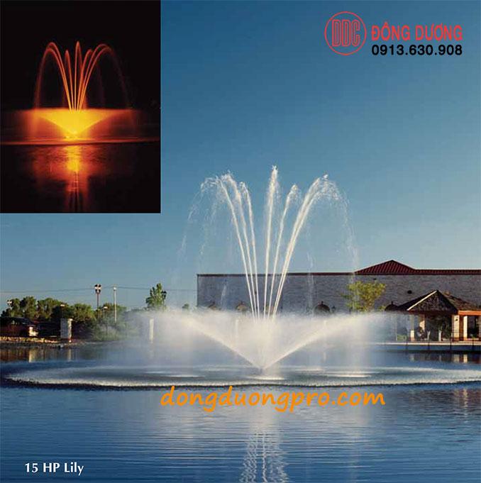 Vòi phun đài phun nước Lily 15 HP