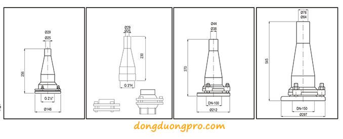 Chi tiết vòi phun lance-Jet-II