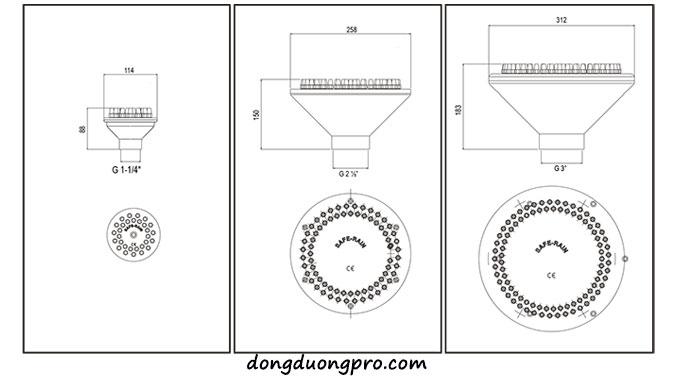 Chi tiết vòi phun foamy-column-jet