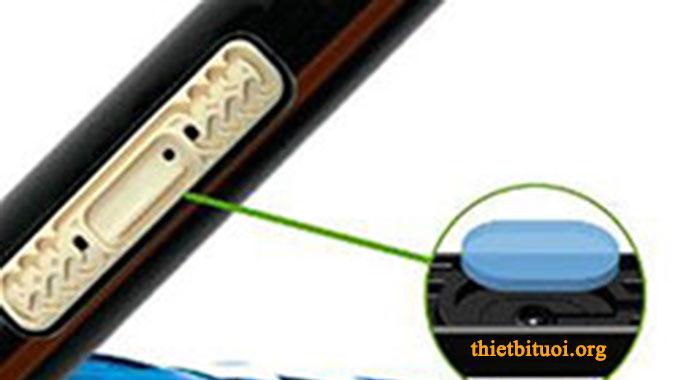 Béc tưới của ống tưới nhỏ giọt bù áp