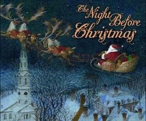 Radio Broadcast of The Night Before Christmas – December 24, 1945