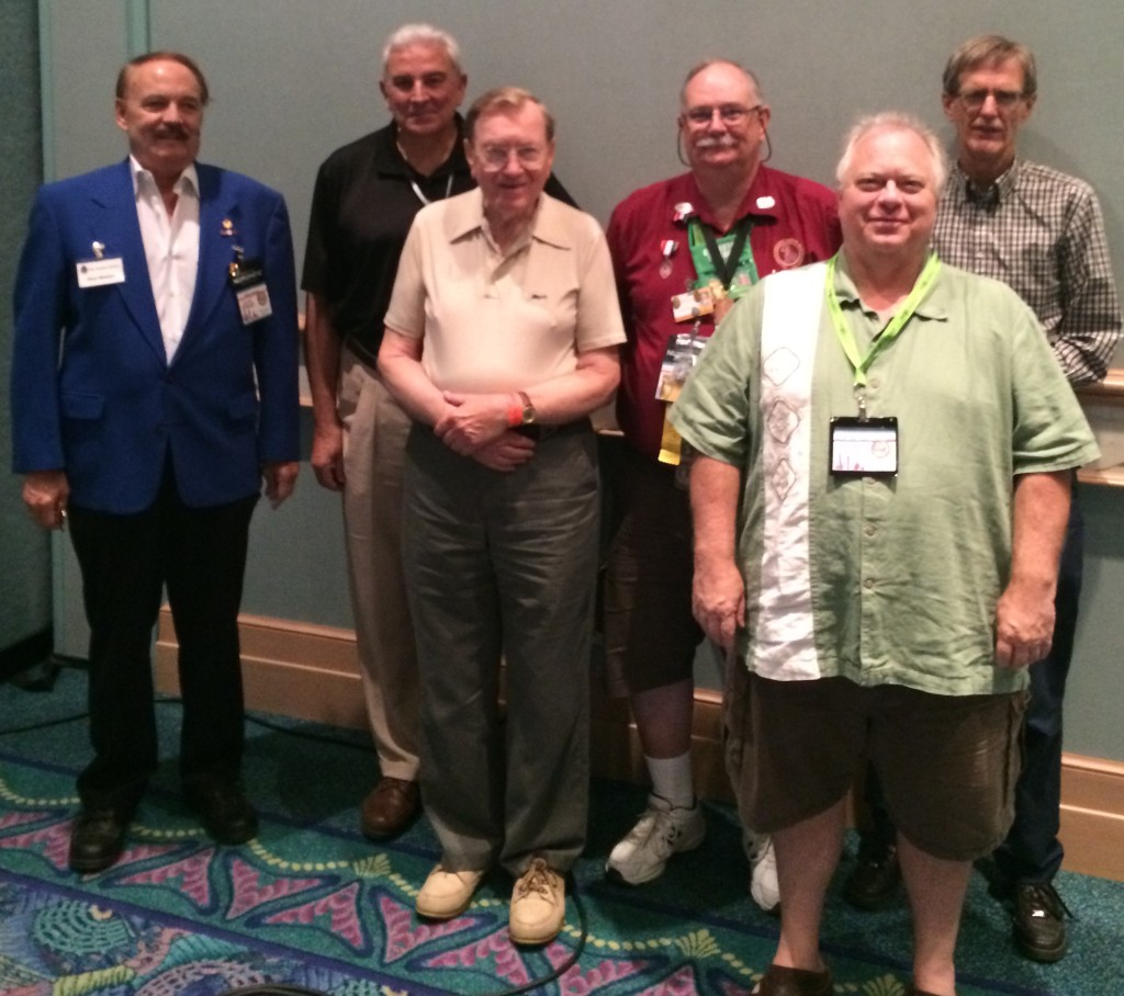Those attending the TFG Organizational Meeting. L to R: Beau Meskan, Al Raddi, Art Garringer, Bob Fritsch, Glenn Sermersheim and David Simpson.  Not shown: Greg Ruby
