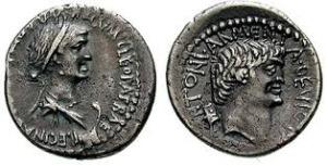 Marc Antony Cleopatra Denarius