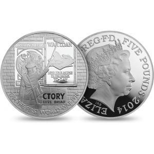 QEII WWI 5 Pound Victory