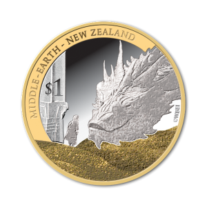 2014 NZ $1 Bilbo and Smaug