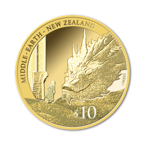 2014 NZ $10 Bilbo and Smaug