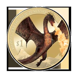 2014 Nz $1 Smaug