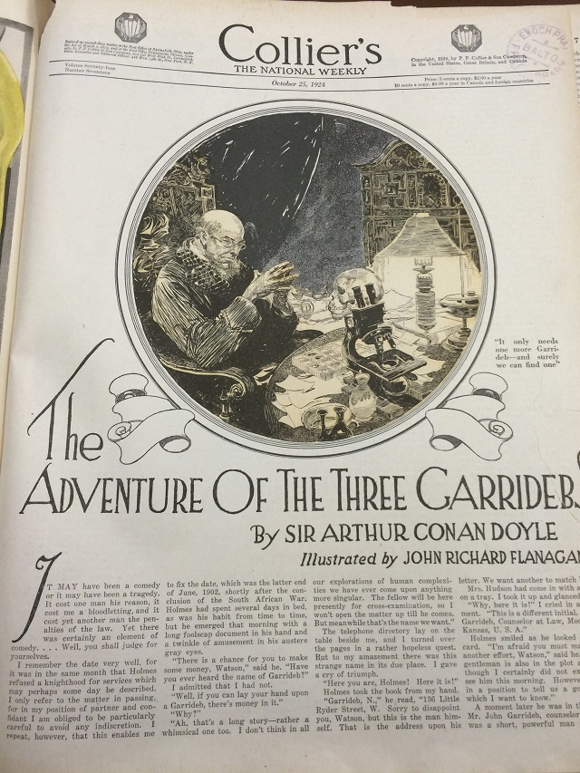 3GAR Colliers Title Page