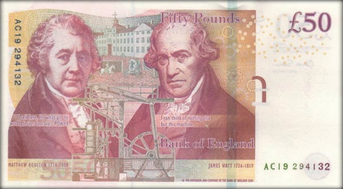 Elizabeth L50 Note Back